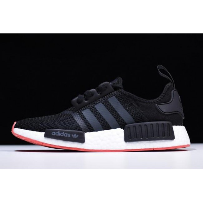 Adidas NMD R1 From USA,Men New Adidas NMD R1 Black-Carbon-Trace ...