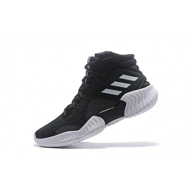 Men Adidas Pro Bounce 2018 Black-White