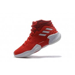 Men Adidas Pro Bounce 2018 Red-White