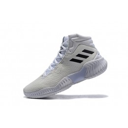 Men Adidas Pro Bounce 2018 White-Black