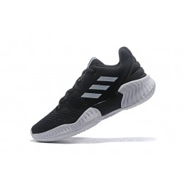 Men Adidas Pro Bounce Low 2018 Black-White