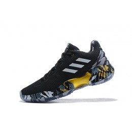 Men Adidas Pro Bounce Low 2018 Kyle Lowry PE Black-White-Gold