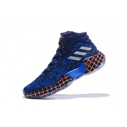 Men Adidas Pro Bounce Unicorn PE Unicorn Dark Blue-Off White