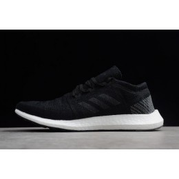 Men/Women Adidas Pure Boost GO Black-White