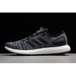 Men Adidas PureBoost All Terrain Black-Grey-White