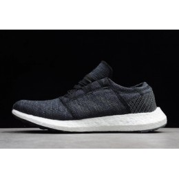 Men Adidas PureBoost Element Core Black-Grey-White