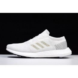 Men/Women Adidas Pureboost GO Cloud White-Grey