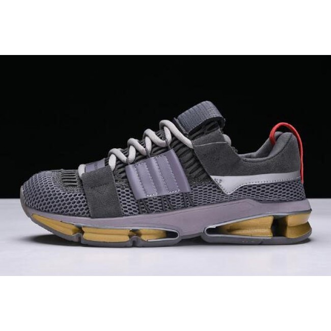 Men Adidas Twinstrike ADV A--D Grey-Clear Granite-Bright Red