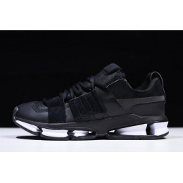 Men/Women Adidas Twinstrike ADV Stretch Leather Core Black