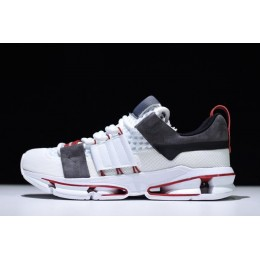 Men/Women Adidas Twinstrike ADV White-Black-Core Red Size