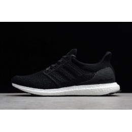 Men 2018 Adidas Ultra Boost Clima 4.0 Black-White Size
