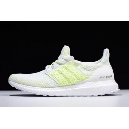 Men/Women 2018 Adidas Ultra Boost Clima Shock Yellow