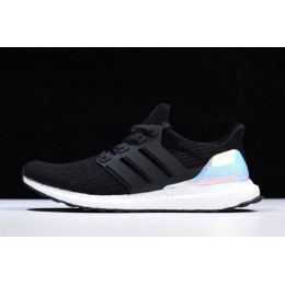 Men/Women Adidas Ultra Boost 4.0 Iridescent Black-White