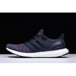 Men/Women Adidas Ultra Boost 4.0 Navy Multicolor Navy-Navy-Blue