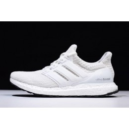 Men/Women Adidas Ultra Boost 4.0 Triple White Footwear White-Core Black