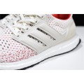 Men Adidas Ultra Boost Tuan Yuan Talcum White-Red