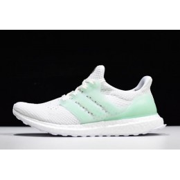 Men Adidas Ultra Boost Tuan Yuan White Green