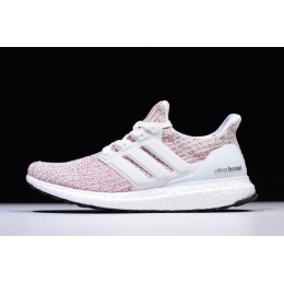 Men/Women New Adidas Ultra Boost 4.0 Candy Cane White-Scarlet Red