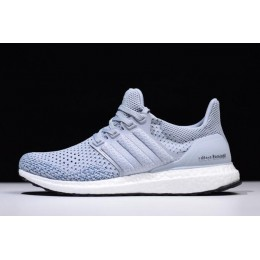 Men/Women New Adidas Ultra Boost Clima Grey Two-Real Teal