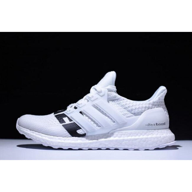 Men Undefeated x Adidas Ultra Boost White-Black