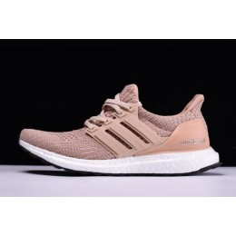 Women Adidas Ultra Boost 4.0 Champagne Pink Ash Peach-White-Black