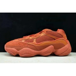 Women Adidas Yeezy 500 Boost Orange Red