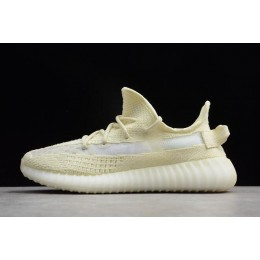 Men/Women Adidas Yeezy Boost 350 V2 Beige Yellow-White