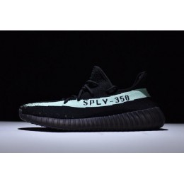 Men/Women New Adidas Yeezy Boost 350 V2 Black Green Size