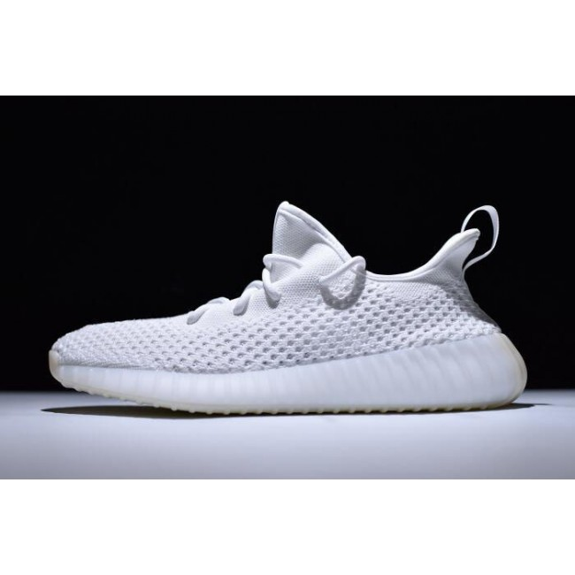 Men/Women New Adidas Yeezy Boost 350 V2 Clima Triple White Shoes