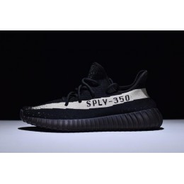 Men/Women New Adidas Yeezy Boost 350 V2 Core White Black-White