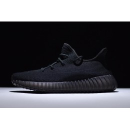 Men/Women New Adidas Yeezy Boost 350 V2 Triple Black