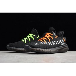Men/Women Virgil Abloh OFF-White x Adidas Yeezy Boost 350 V2 In Black Size