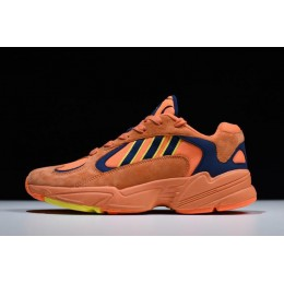 Men/Women Adidas Yung-1 Goku Hi-Res Orange-Shock Yellow