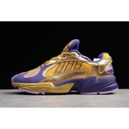 Men/Women Dragon Ball Z x Adidas YUNG-1 Golden Frieza