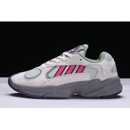 Men/Women Adidas Originals Yung-1 Grey Red