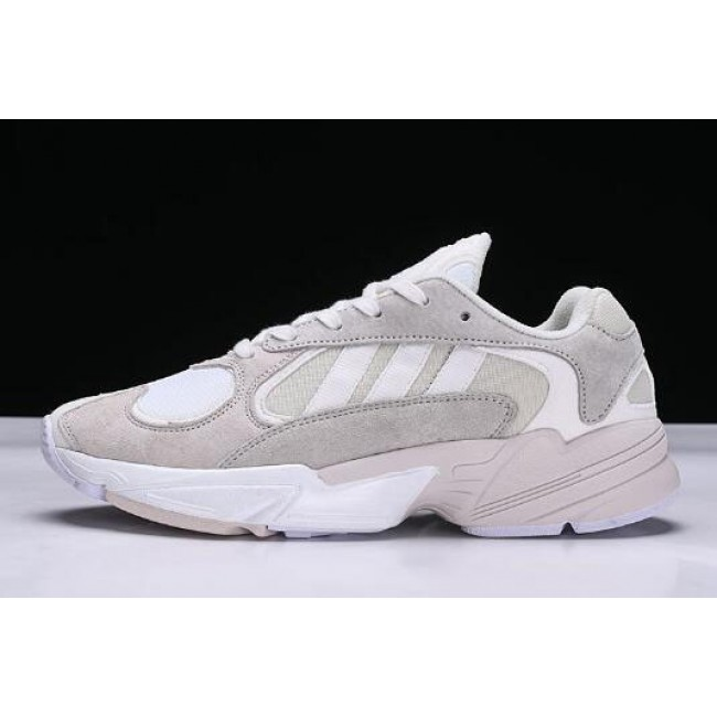 Men/Women New Adidas Originals Yung-1 Cloud White Size