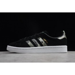 Men/Women Adidas Originals Campus Black-Trace Cargo-Crystal White