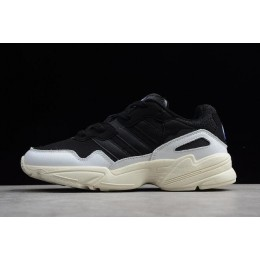 Men/Women Adidas Yung-96 Black White F97177