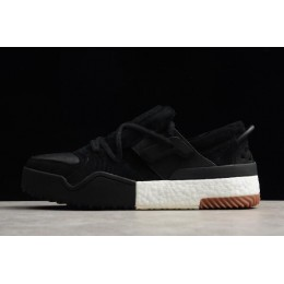 Men Adidas Alexander Wang Bball Low Black Suede