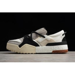 Men Adidas Alexander Wang Bball Low White-Grey-Black On Sale