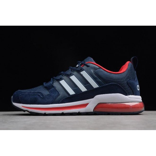 Men New Adidas Tubular Navy Blue-Red-White
