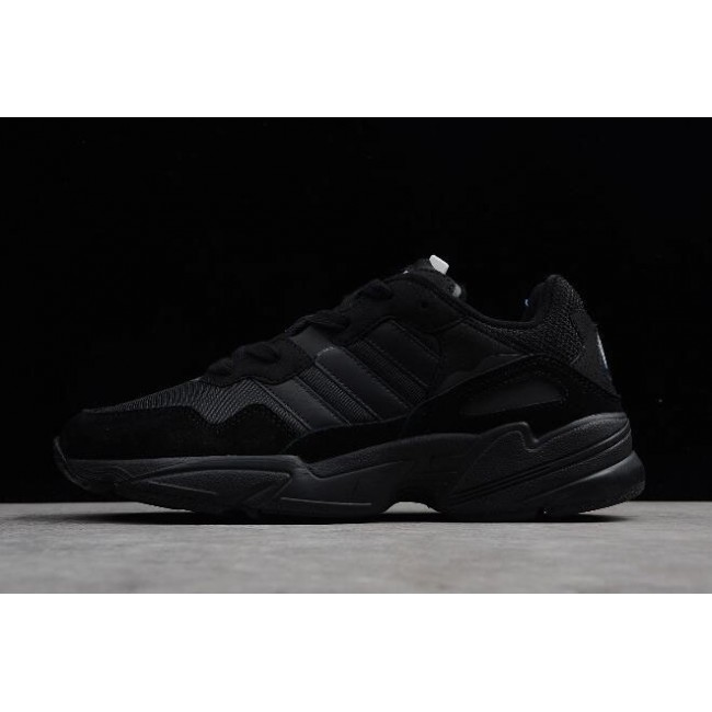Men/Women New Adidas Yung-96 Triple Black