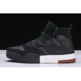 Men New Adidas x Alexander Wang Bball High Black-White