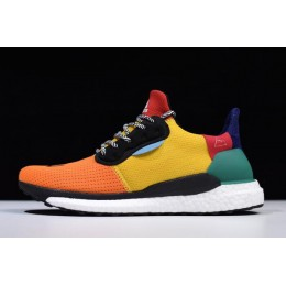 Men Pharrell x Adidas Solar Supplier Colour-Bold Gold-Bold Green